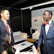 20150604- Brussels - Belgium - 04 June2015 - European Development Days - EDD  - <br /> Serguei Outtara President &amp; Executive Manager EU-Africa Chamber of Commerce and Axel Addy Minister  Liberia  &copy; EU/UE