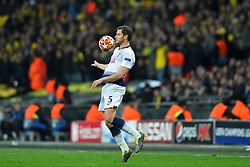 February 13, 2019 - London, England, United Kingdom - Tottenham defender Jan Vertonghen in a majestic performance during the UEFA Champions League match between Tottenham Hotspur and Ballspielverein Borussia 09 e.V. Dortmund at Wembley Stadium, London on Wednesday 13th February 2019. (Credit: Jon Bromley | MI News & Sport Ltd) (Credit Image: © Mi News/NurPhoto via ZUMA Press)