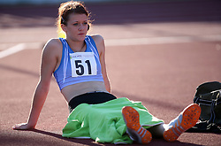 Jana Kersevan at Athletic National Championship of Slovenia, on July 19, 2008, in Stadium Poljane, Maribor, Slovenia. (Photo by Vid Ponikvar / Sportal Images).