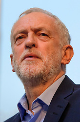 © Licensed to London News Pictures. 14/01/2017. London, UK. Labour Party leader JEREMY CORBYN speaking at the Fabian Society conference in London on January 14, 2016. Corbyn has come under further pressure as leader following the resignation of Stoke-on-Trent, Tristram Hunt. Photo credit: Ben Cawthra/LNP