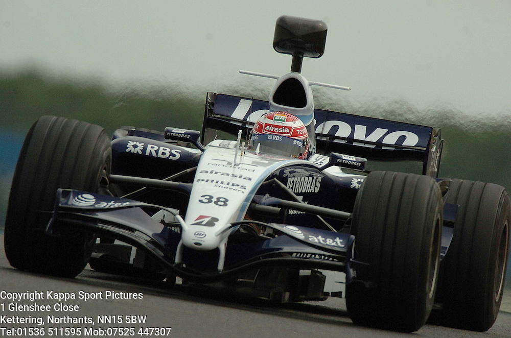 KAZUKI NAKAJIMA, WILLIAMS F1, Formula One Test Silverstone June 2007 :Photo:Mike Capps