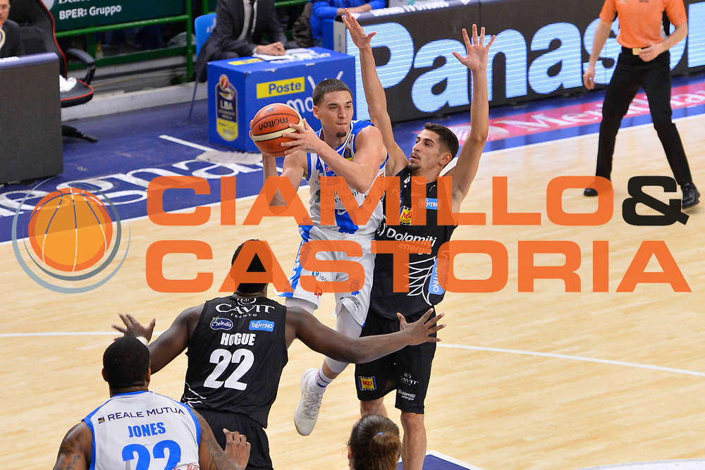 SASSARI 07 GENNAIO 2018<br /> Banco di Sardegna Dinamo Sassari - Dolomiti Energia Aquila Trento<br /> Legabasket Serie A LBA PosteMobile 2017/2018<br /> NELLA FOTO Scott Bamforth<br /> FOTO CIAMILLO - Luigi Canu