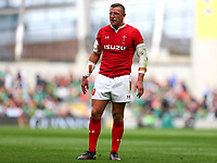Rugby Union - 2019 pre-Rugby World Cup warm-up (Guinness Summer Series) - Ireland vs. Wales<br /> <br /> Hadleigh Parkes (Wales) at The Aviva Stadium.<br /> <br /> COLORSPORT/KEN SUTTON