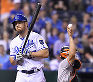 The Kansas City Royals vs San Francisco Giants 18 Apr 2017