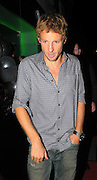 21.OCTOBER.2009 - LONDON<br /> <br /> NEWLY CROWNED FORMULA 1 CHAMPION JENSON BUTTON CELEBRATES WIINING THE TITLE BY PARTYING WITH FRIENDS AND FAMILY AT JALOUSE CLUB, MAYFAIR TILL 3.00AM AND LEFT LOOKING A LITTLE WORSE FOR WEAR<br /> <br /> BYLINE: EDBIMAGEARCHIVE.COM<br /> <br /> *THIS IMAGE IS STRICTLY FOR UK NEWSPAPERS &amp; MAGAZINES ONLY*<br /> *FOR WORLDWIDE SALES &amp; WEB USE PLEASE CONTACT EDBIMAGEARCHIVE-0208 954 5968*