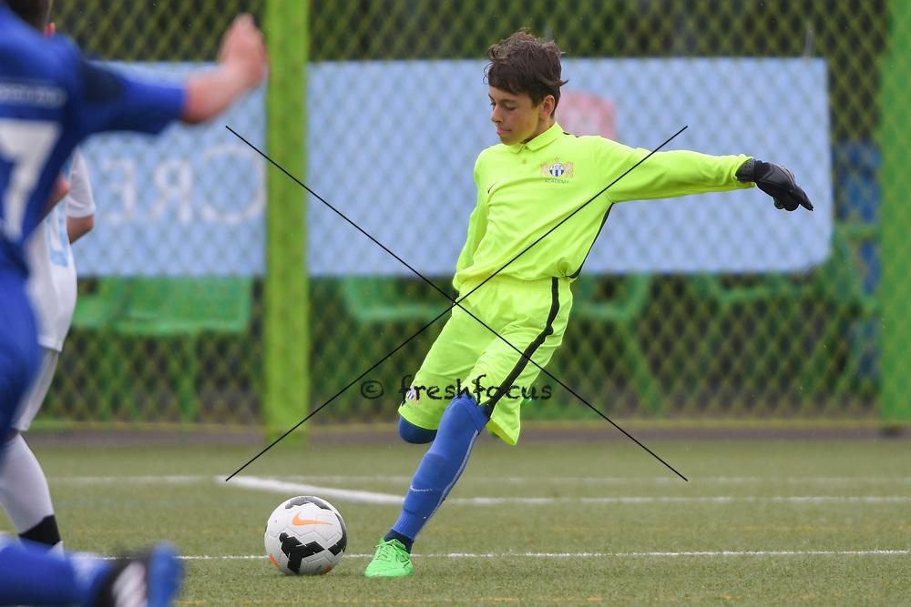 06.05.2017; Zuerich; <br /> Fussball FCZ Academy - FC Zuerich FE13 Oberland_FE13 TBOE; <br /> Torhueter Yannick Stierli (Zuerich) <br /> (Andy Mueller/freshfocus)