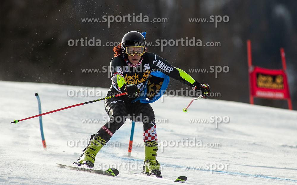 POPOVIC Leona of Croatia competes during the Ladies' GiantSlalom at 56th Golden Fox event at Audi FIS Ski World Cup 2019/20, on February 15, 2020 in Podkoren, Kranjska Gora, Slovenia. Photo by Matic Ritonja / Sportida