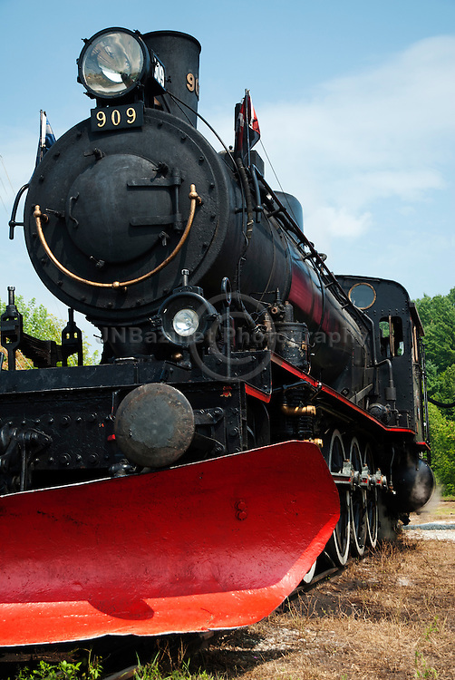 One of the last steam engines (still in operation) in Canada is located in <br /> Wakefield, Quebec.