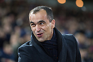 Roberto Martinez, Manager of Everton, before the FA Cup match at the Boleyn Ground, London<br /> Picture by David Horn/Focus Images Ltd +44 7545 970036<br /> 13/01/2015