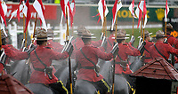 RCMP Musical ride at Spruce Meadows