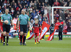 Mascot - Photo mandatory by-line: Joe Meredith/JMP - Tel: Mobile: 07966 386802 01/04/2013 - SPORT - FOOTBALL - Ashton Gate - Bristol -  Bristol City V Sheffield Wednesday - Npower Championship