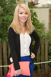 © Licensed to London News Pictures. 20/05/2013. London, England. Acid attack victim and former model Katie Piper. Celebrities at Press Day Monday of the RHS Chelsea Flower Show. Photo credit: Bettina Strenske/LNP