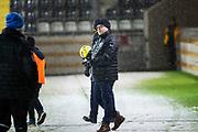 G&Ouml;TEBORG - 2018-02-18: Roar Hansen, huvudtr&auml;narei IFK V&auml;rnamo under matchen i Svenska Cupen, grupp 4, mellan BK H&auml;cken och IFK V&auml;rnamo den 18 februari 2018 p&aring; Bravida Arena i G&ouml;teborg, Sverige.<br /> Foto: Anders Ylander/Ombrello<br /> ***BETALBILD***