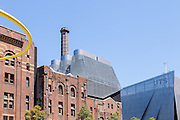 The Old Kent Brewery overlooking One Central Park and  the University of Technology. This heritage brewery is currently being redeveloped into residential accommodation which includes student housing.