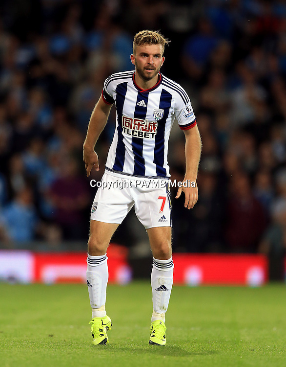 West Bromwich Albion's James Morrison