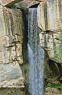 Lovers Leap waterfall at rock city.