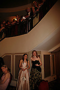 SUSANNAH PELL AND KATHERINE LOWSON, The Royal Caledonian charity Ball 2006.Grosvenor House. London. 5 May 2006. . ONE TIME USE ONLY - DO NOT ARCHIVE  © Copyright Photograph by Dafydd Jones 66 Stockwell Park Rd. London SW9 0DA Tel 020 7733 0108 www.dafjones.com