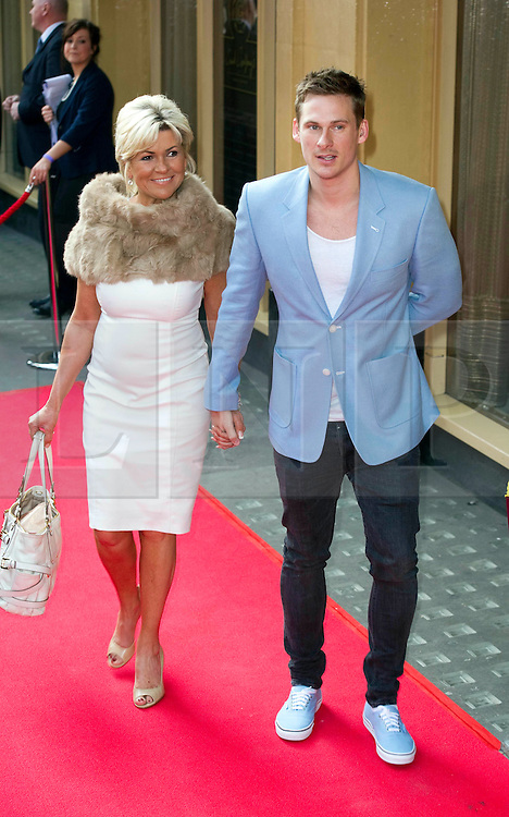 © Licensed to London News Pictures 09/02/2011 London, UK. .Lee Ryan and mum arrive at the Waldorf Hotel, London for the seventh Tesco Mum of the Year Awards..Photo credit : Simon Jacobs/LNP