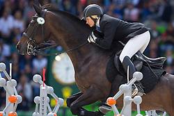 Alena Tseliapushkina, (BLR), Passat - Jumping Eventing - Alltech FEI World Equestrian Games™ 2014 - Normandy, France.<br /> © Hippo Foto Team - Leanjo De Koster<br /> 31-08-14