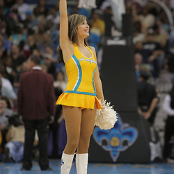 05 November 2008: New Orleans Hornets Honeybee dancers during the NBA game between the New Orleans Hornets and the Atlanta Hawks at the New Orleans Arena in New Orleans, LA..