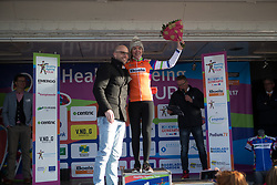 Anna van der Breggen (NED) of Boels-Dolmans Cycling Team takes over the orange jersey as the leader of the Sprint Classification after Stage 1b of the Healthy Ageing Tour - a 77.6 km road race, starting and finishing in Grijpskerk on April 5, 2017, in Groeningen, Netherlands.