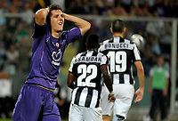 Stevan Jovetic Fiorentina<br />   25/9/2012 Stadio Franchi Firenze<br /> Football Calcio 2012/2013 Serie A<br /> Fiorentina vs Juventus<br /> Foto Federico Tardito Insidefoto