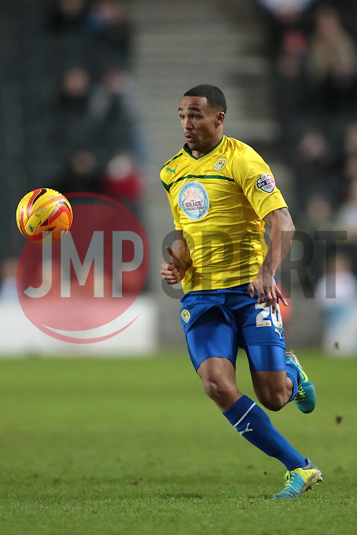 Coventry City's Callum Wilson - Photo mandatory by-line: Nigel Pitts-Drake/JMP - Tel: Mobile: 07966 386802 30/11/2013 - SPORT - Football - Milton Keynes - Stadium mk - MK Dons v Coventry City - Sky Bet League One