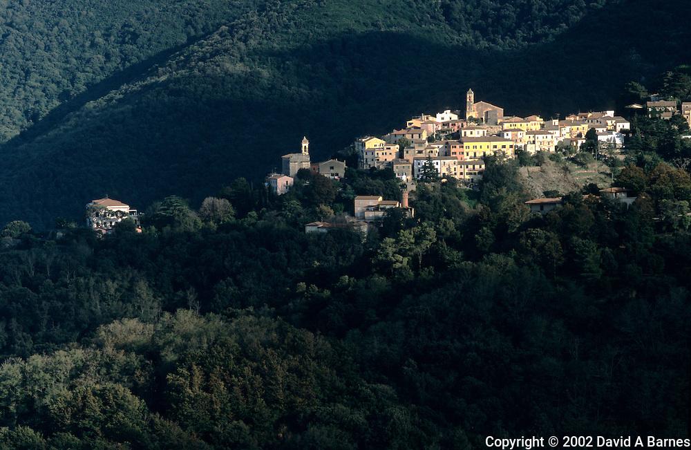 Village of Poggio, Elba Island, Tuscany, Italy