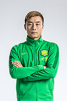 **EXCLUSIVE**Portrait of Chinese soccer player Li Lei of Beijing Sinobo Guoan F.C. for the 2018 Chinese Football Association Super League, in Shanghai, China, 22 February 2018.