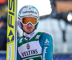 21.01.2118, Heini Klopfer Skiflugschanze, Oberstdorf, GER, FIS Skiflug Weltmeisterschaft, Teambewerb, im Bild Killian Peier (SUI) // Killian Peier of Switzerland during Team competition of the FIS Ski Flying World Championships at the Heini-Klopfer Skiflying Hill in Oberstdorf, Germany on 2118/01/21. EXPA Pictures © 2118, PhotoCredit: EXPA/ Peter Rinderer