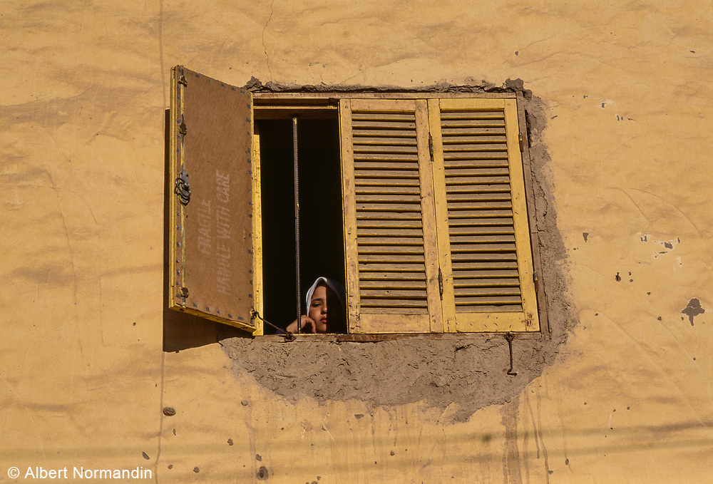 Woman in Window, Egypt, 1996
