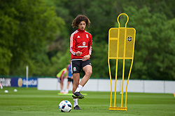 CARDIFF, WALES - Wednesday, June 1, 2016: Wales' Ethan Ampadu during a training session at the Vale Resort Hotel ahead of the International Friendly match against Sweden. (Pic by David Rawcliffe/Propaganda)