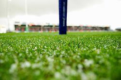 Hail that fell during the match - Mandatory by-line: Ryan Hiscott/JMP - 15/12/2019 - RUGBY - Sandy Park - Exeter, England - Exeter Chiefs v Sale Sharks - Heineken Champions Cup
