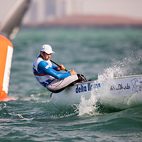 2014 ISAF Sailing World Cup Final, Abu Dhabi, United Arab Emirate. Date – 29th november, day 3 of racing. All ten Olympic sailing events are being contested in Abu Dhabi from with an open kiteboarding event joining the fray around Lulu Island off the UAE capital's stunning Corniche. Prize money will be awarded to the top three overall finishers in each of the Olympic events from a total prize purse of US$200,000. The Abu Dhabi Sailing and Yacht Club is the host of the ISAF Sailing World Cup Final with some technical facilities located at the adjacent Abu Dhabi International Marine Sports Club. The venue is located on the main island of the city with immediate access to the beautiful waters of the Arabian Gulf. of racing. All ten Olympic sailing events are being contested in Abu Dhabi from with an open kiteboarding event joining the fray around Lulu Island off the UAE capital's stunning Corniche. Prize money will be awarded to the top three overall finishers in each of the Olympic events from a total prize purse of US$200,000. The Abu Dhabi Sailing and Yacht Club is the host of the ISAF Sailing World Cup Final with some technical facilities located at the adjacent Abu Dhabi International Marine Sports Club. The venue is located on the main island of the city with immediate access to the beautiful waters of the Arabian Gulf. of racing. All ten Olympic sailing events are being contested in Abu Dhabi from with an open kiteboarding event joining the fray around Lulu Island off the UAE capital's stunning Corniche. Prize money will be awarded to the top three overall finishers in each of the Olympic events from a total prize purse of US$200,000. The Abu Dhabi Sailing and Yacht Club is the host of the ISAF Sailing World Cup Final with some technical facilities located at the adjacent Abu Dhabi International Marine Sports Club. The venue is located on the main island of the city with immediate access to the beautiful waters of the Arabian Gulf.