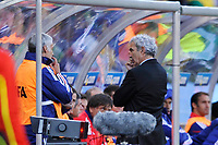 FOOTBALL - FIFA WORLD CUP 2010 - GROUP STAGE - GROUP A - FRANCE v SOUTH AFRICA - 22/06/2010 - PHOTO GUY JEFFROY / DPPI - RAYMOND DOMENECH (FRANCE COACH)
