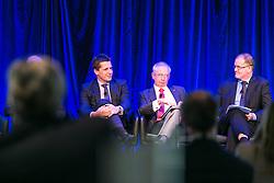 Michael Kilgariff (Session Chair), Mr Simon Ormsby, Mr Ian Hunt, Mr Paul Retter, Day 2. ALC Forum 2014. Australian Logistics Council. Royal Randwick Racecourse. Sydney. Photo: Pat Brunet/Event Photos Australia