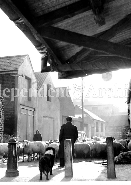 Moore Street in 1964. (Part of the Independent Ireland Newspapers/NLI Collection)