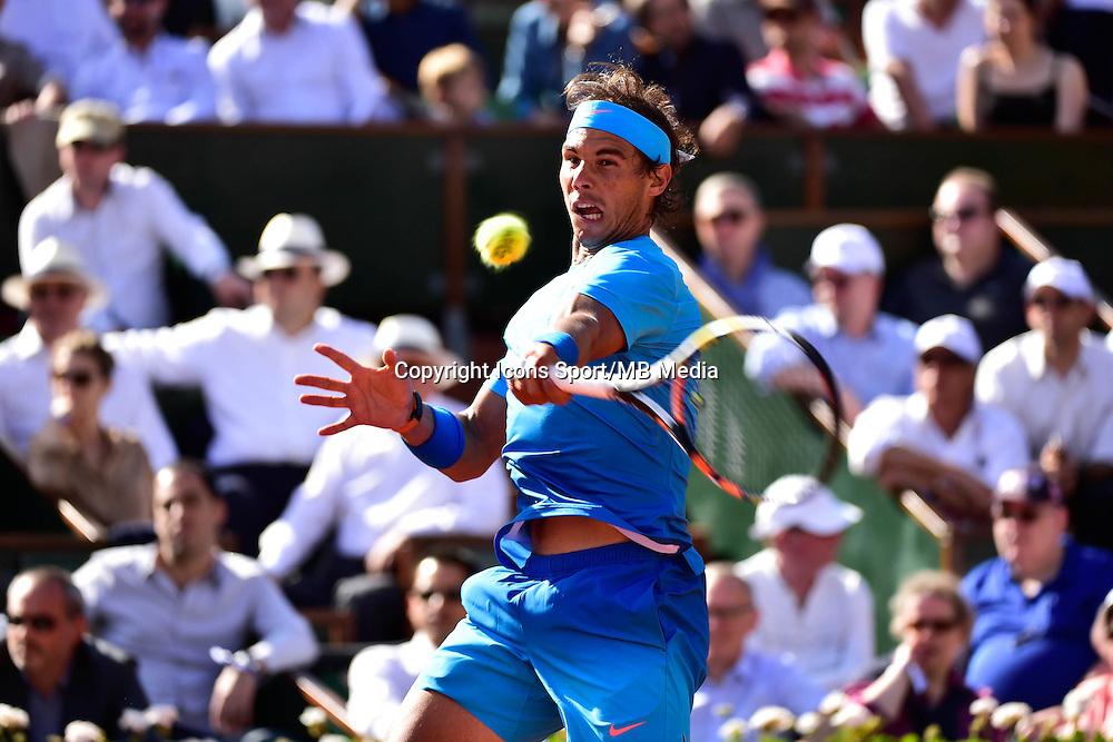Rafael NADAL - 03.06.2015 - Jour 11 - Roland Garros 2015 <br />Photo : Dave Winter / Icon Sport