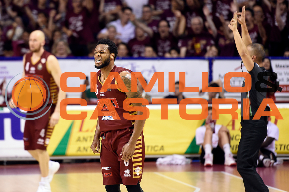 MarQuez Haynes<br /> Umana Reyer Venezia - Dolomiti Energia Aquila Basket Trento<br /> Lega Basket Serie A 2016/2017<br /> Playoff, finale gara 2<br /> Venezia, 12/06/2017<br /> Foto M.Ceretti / Ciamillo-Castoria