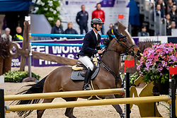 GUERDAT Steve (SUI), Venard de Cerisy<br /> Göteborg - Gothenburg Horse Show 2019 <br /> Gothenburg Trophy presented by VOLVO<br /> Int. jumping competition with jump-off (1.55 m)<br /> Longines FEI Jumping World Cup™ Final and FEI Dressage World Cup™ Final<br /> 06. April 2019<br /> © www.sportfotos-lafrentz.de/Stefan Lafrentz