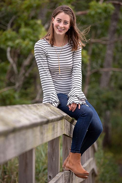 Photography ©Mara Lavitt<br /> September 7, 2018<br /> Hammonasset Beach State Park, Madison.<br /> <br /> Tori Adamczyk, senior portrait.