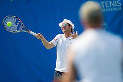 Blaz Kavcic during Tilia Business Open 2015 on August 14, 2015 in Tennis stadium SRC Marina, Portoroz / Portorose, Slovenia. Photo by Urban Urbanc / Sportida