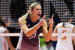 CHRISTA HARMOTTO DIETZEN <br /> USA - CHINA <br /> FINAL VOLLEYBALL WOMEN'S WORLD CHAMPIONSHIP 2014<br /> MILAN (ITA) 12-10-2014<br /> PHOTO BY FILIPPO RUBIN