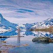 Stellisee, Zermatt, Matterhorn, Wallis, Switzerland