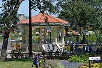 The Gazebo at Washington Park in Over-the-Rhine, Cincinnati Ohio