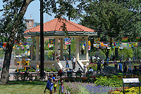 The Gazebo at Washington Park in Over-the-Rhine, Cincinnati Ohio