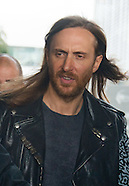 David Guetta de passage en Belgique pour la promo de son concert