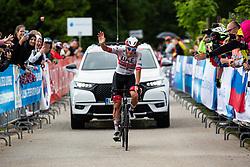 Tadej POGACAR 2nd during Slovenian Road Cyling Championship 2020 on June 21, 2020 in Cerklje na Gorenjskem, Slovenia. Photo by Peter Podobnik / Sportida.