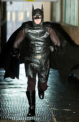 Batman appears on the streets of Sheffield courtesy of a wealthy businessman who is dishing out cash to improve lives in South Yorkshire. Wearing a £3,000 replica Batman movie suit, he intends to remain anonymous while giving a bigger profile to worthy good causes..