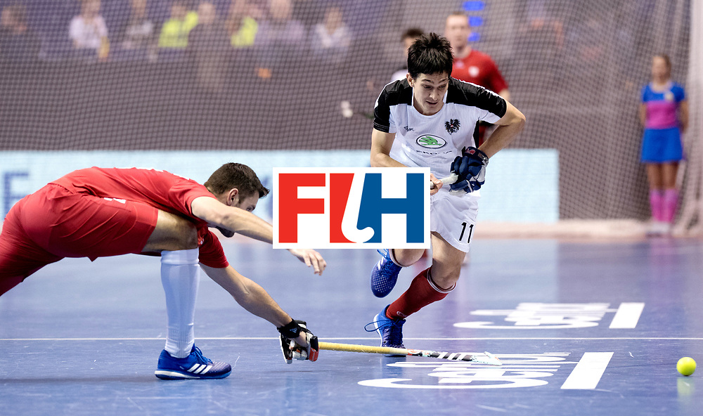 BERLIN - Indoor Hockey World Cup<br /> Quarterfinal 2: Austria - Poland<br /> foto: SCHMIDT Patrick.<br /> WORLDSPORTPICS COPYRIGHT FRANK UIJLENBROEK